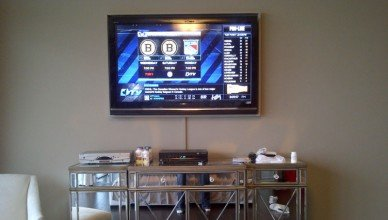 On-Wall Wire Management with Wire Raceway