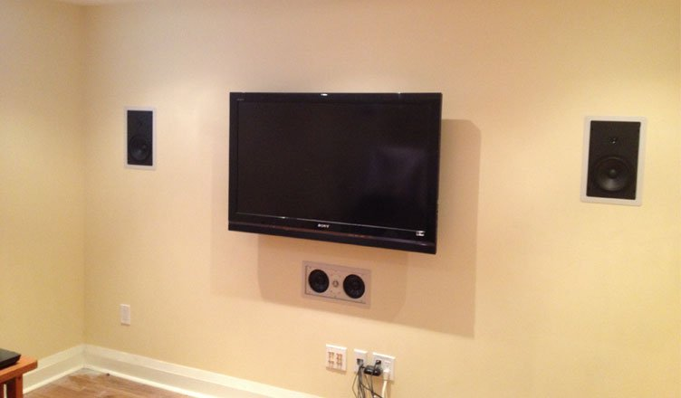 home theater system installation. Black Bedroom Furniture Sets. Home Design Ideas